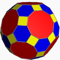Truncated icosidodecahedron color