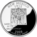 Quarter of New Mexico
