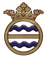 Heraldic badge of the county council