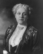 Carrie Chapman Catt, woman's suffrage leader