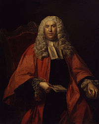 Sir William Blackstone (1723–1780), lawyer and author of Commentaries on the Laws of England