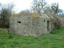 Pillbox on Taunton stop line