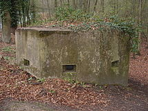 Pillbox at Curzon Bridges