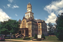 The Jersey County Courthouse in Jerseyville