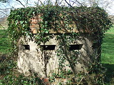 Norcon Pillbox at Moreton Ford.