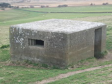 Pillbox at St. Catherine's Chapel