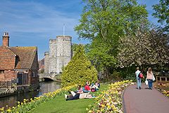 River Stour in Canterbury, England - May 08.jpg