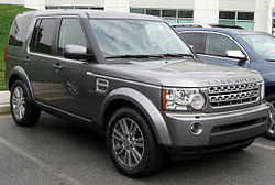 2011 Land Rover LR4 HSE (US)