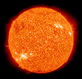 The Sun by the Atmospheric Imaging Assembly of NASA's Solar Dynamics Observatory - 20100819.jpg