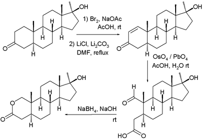 Oxandrolone Synthesis