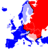 Map of Cold War Europe